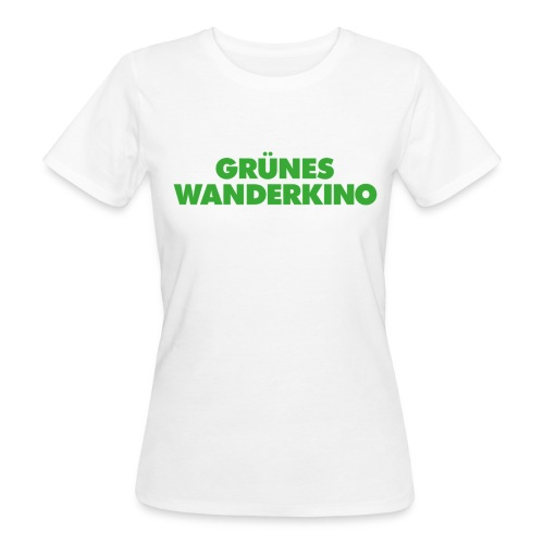 Frauen-Bio-T-Shirt tailliert weiß - Frauen Bio-T-Shirt