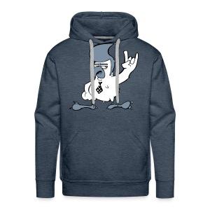 Skaketoe Capuchontrui - Mannen Premium hoodie