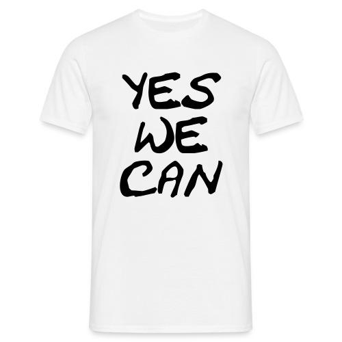 CAMISETA YES WE CAN - Camiseta hombre
