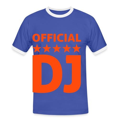 CAMISETA OFFICIAL DJ - Camiseta contraste hombre