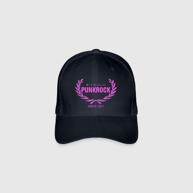 Old School Punkrock Since 1977 (Druck in Pink) - Flexfit Baseballkappe