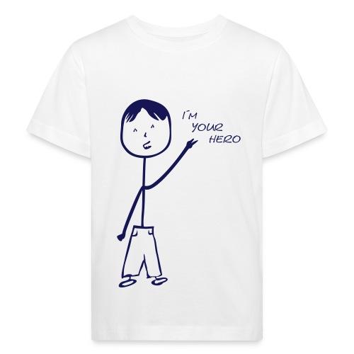 I´m your Hero - Kinder T-Shirt klimaneutral - Kinder Bio-T-Shirt