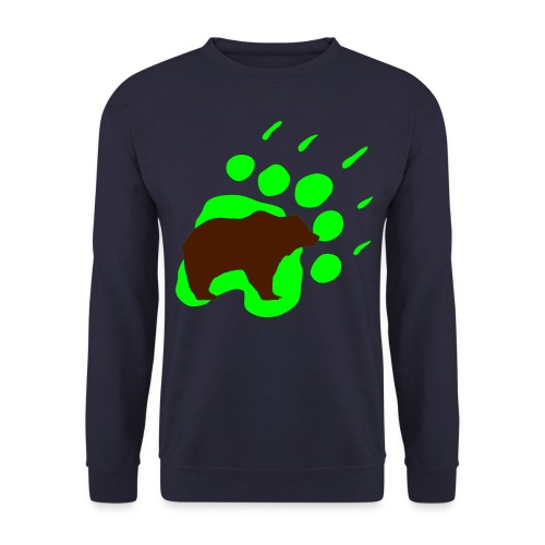 bears rock hard - Men's Sweatshirt