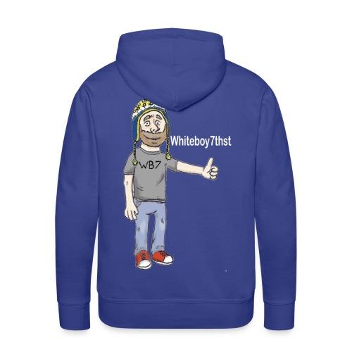 Men's Hoodie: Whiteboy7thst! - Men's Premium Hoodie