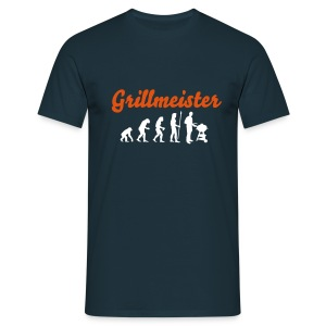 evolution_grillmeister - Männer T-Shirt