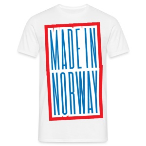 Made in Norway - T-skjorte for menn
