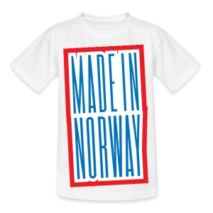 Made in Norway - T-skjorte for tenåringer