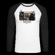 Langarmshirts ~ Männer Baseballshirt langarm ~ Chemnitz Theaterstraße 1935