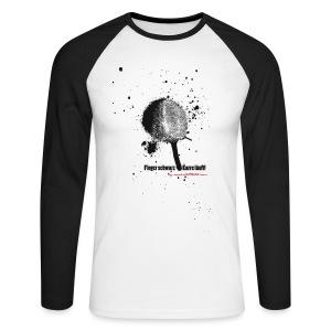 Finger schwarz - Karre läuft - Männer Baseballshirt langarm