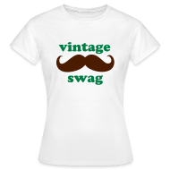 T-Shirts ~ Women's T-Shirt ~ Vintage Swag Ladies