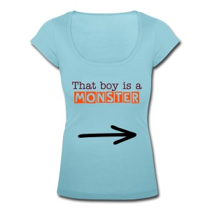 monster te - Women's Scoop Neck T-Shirt