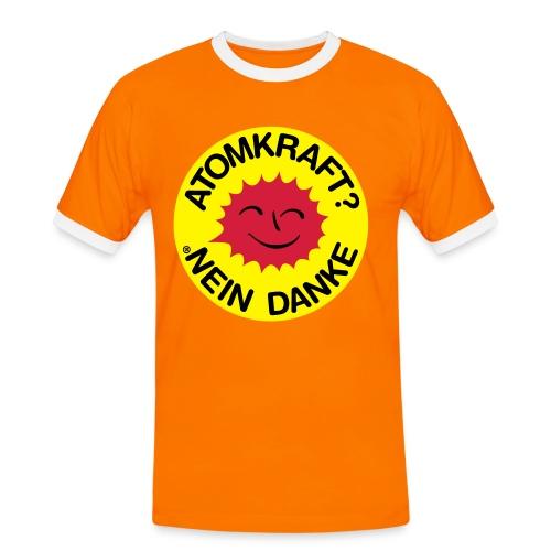 Umweltfreund - Männer Kontrast-T-Shirt