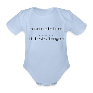 cheeky - Organic Short-sleeved Baby Bodysuit
