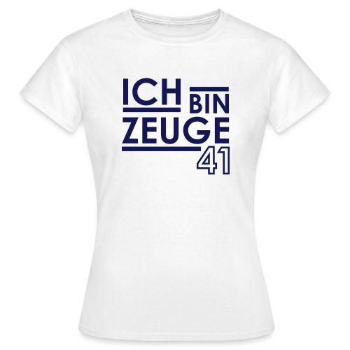 Nowitzki Zeuge Shirt white/royalblue WOMEN - Frauen T-Shirt
