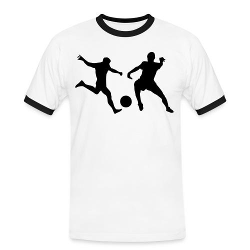 shirt sfida calcio - Maglietta Contrast da uomo