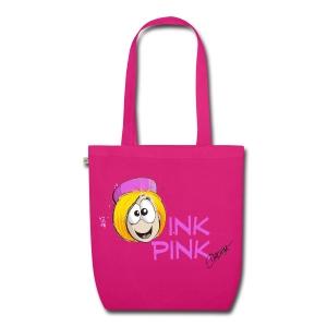 Ink Pink ...zum Rumshoppen - Bio-Stoffbeutel