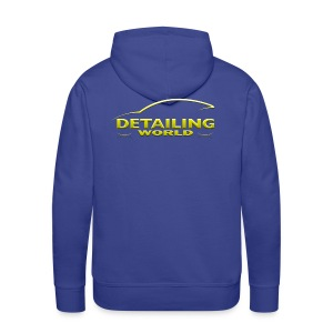 Detailing World 'Gold Logo' Hooded Fleece Top - Men's Premium Hoodie