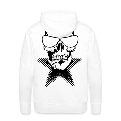 renegade tete mort stars Sweatshirts - Sweat-shirt à capuche Premium pour hommes