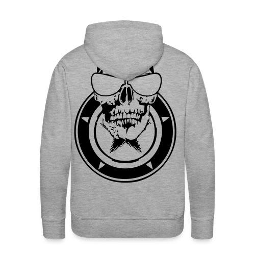 renegat tete mort1 Sweatshirts - Sweat-shirt à capuche Premium pour hommes