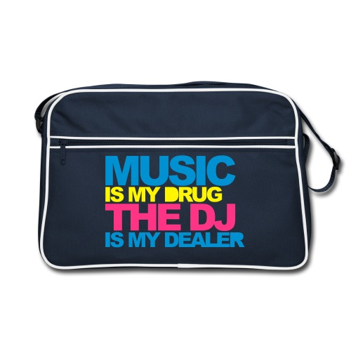 Music Is My Drug Bag - Retro Bag