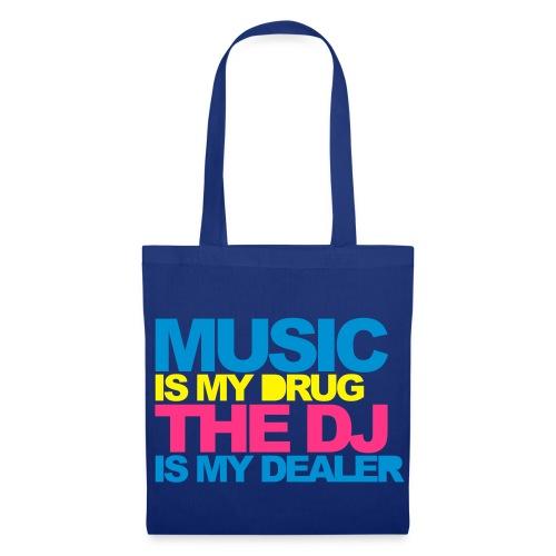 Music Is My Drug Mens Tee - Tote Bag