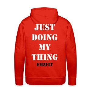 Mens - Just Doing My Thing Hoodie - Men's Premium Hoodie