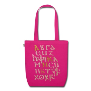 ASNC Gothic Alphabet Tote - EarthPositive Tote Bag