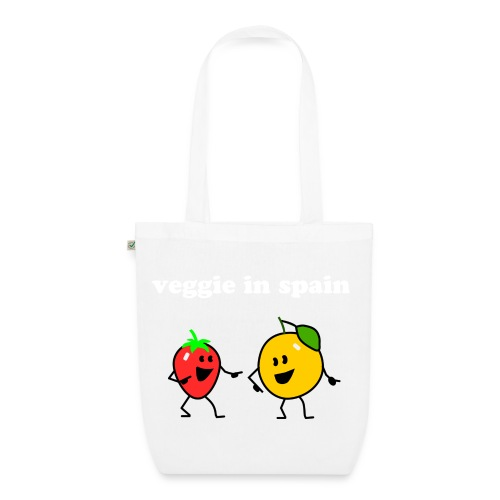 veggie in spain organic tote bag - EarthPositive Tote Bag
