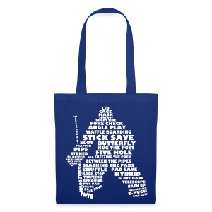 Hockey Goalie Terminology Tote Bag  - Tote Bag