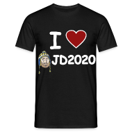 T-Shirts ~ Men's T-Shirt ~ I Heart JD2020