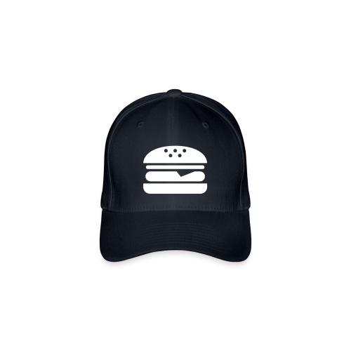 Burger CAP - Flexfit Baseballkappe