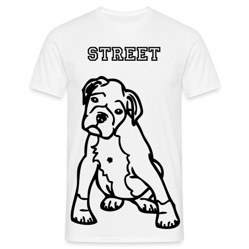 Street dog tee - Men's T-Shirt