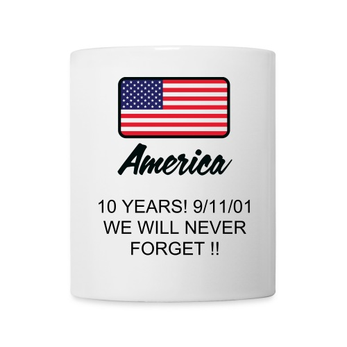 10 YEARS - USA cup - perfect for the office to show everyone that you are a real patriot ! - Mug