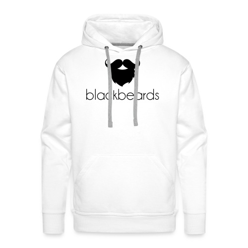 blackbeards white hoody - Männer Premium Hoodie
