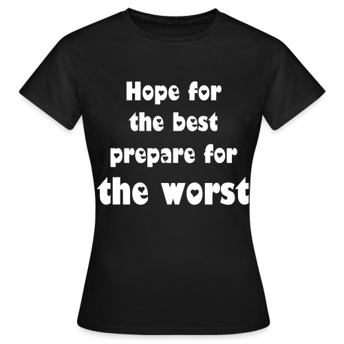 the best - Vrouwen T-shirt