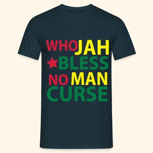 WHO JAH BLESS - Männer T-Shirt