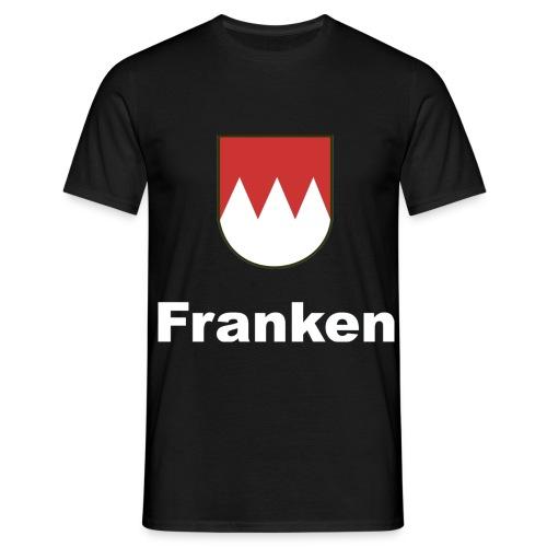 Franken          Schrift:Weiss - Männer T-Shirt