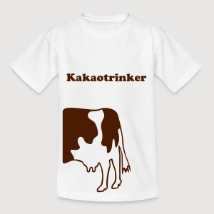 KUH ohne MUH + Dein Text (KIakaotrinker) | Kindershirt - Teenager T-Shirt