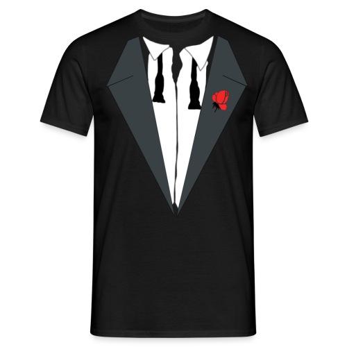 AFTER PARTY SMOKING (TUXEDO) - Männer T-Shirt