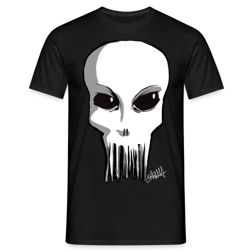 Monsterkopf - Männer T-Shirt