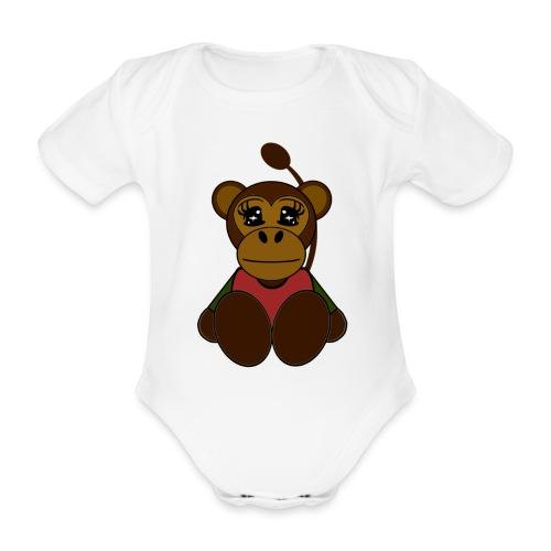 Body bébé singe - Body bébé bio manches courtes