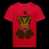 Tee shirts ~ Tee shirt Bio Enfant ~ T shirt enfant singe
