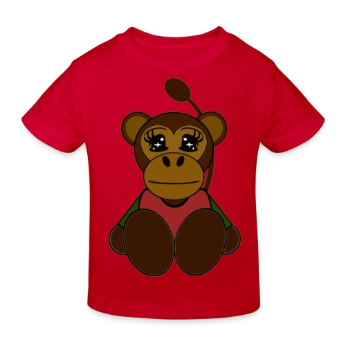 T shirt enfant singe - T-shirt bio Enfant