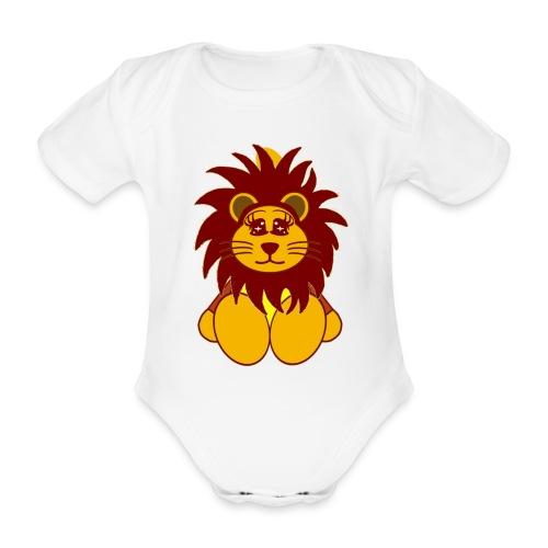 Body bébé lion - Body bébé bio manches courtes