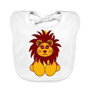 Bavoir bébé lion - Bavoir bio Bébé
