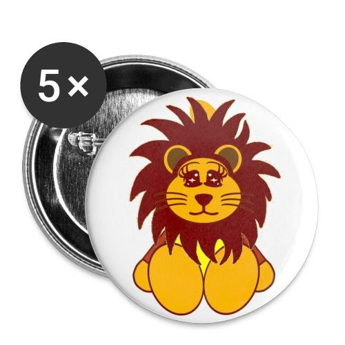 Badge lion - Badge petit 25 mm