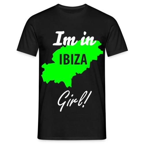 Im in Ibiza girl (MENS) - Men's T-Shirt