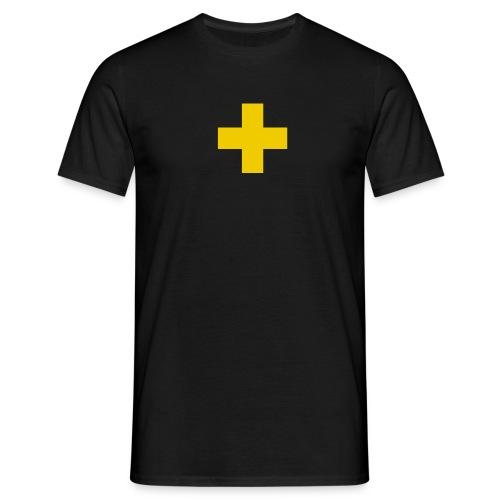 La Croix Jaune - simple - T-shirt Homme