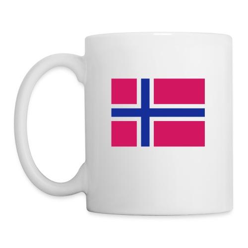 Norwegian Flag Cop - Kopp