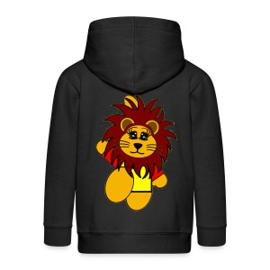 Veste capuche enfant lion - Veste à capuche Premium Enfant